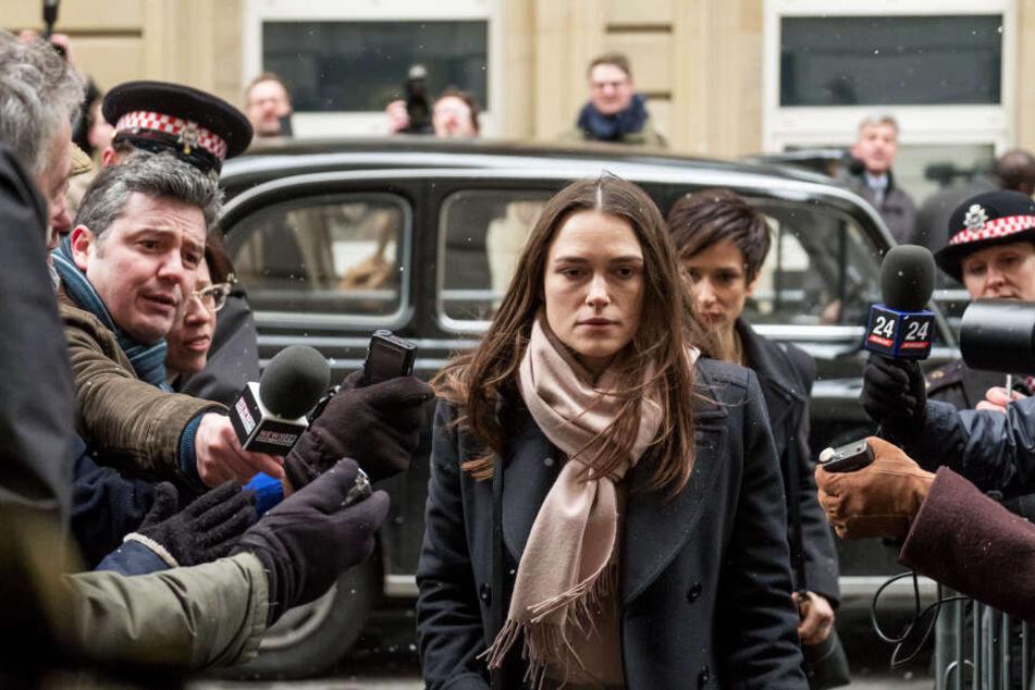 Katherine Gun (Keira Knightley) geriet durch ihre Entscheidung in den Fokus der Öffentlichkeit.