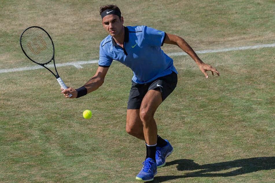 Traumfinale perfekt: Alexander Zverev fordert in Halle Roger Federer