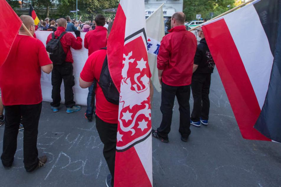 Nach Augenzeugenberichten nahmen auch Neonazis aus Thüringen an der NPD Demo teil. (Symbolbild)