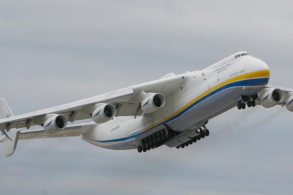 Die Antonov AN-225 gibt es nur einmal auf der Welt.