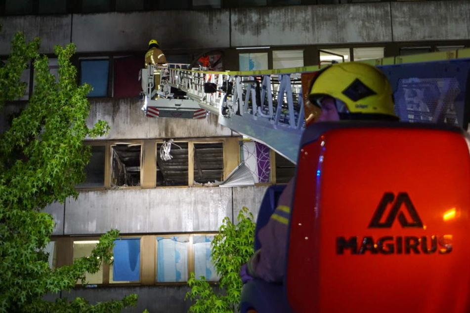 Die Feuerwehr konnte den Brand erfolgreich löschen.