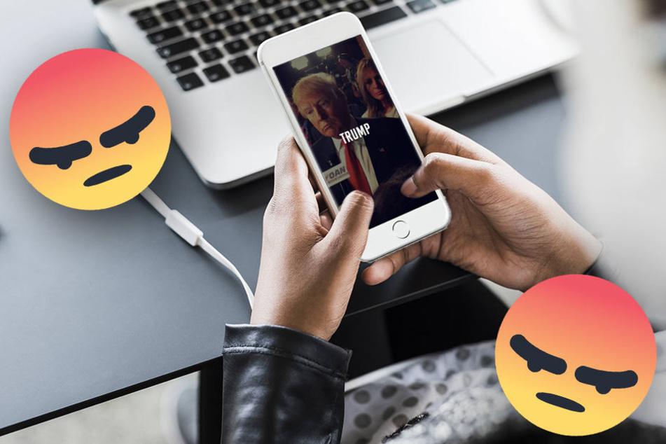 """Die Dating-App """"Hater"""" verkuppelt Singles auf Grundlage von Hass. (Symbolbild)"""