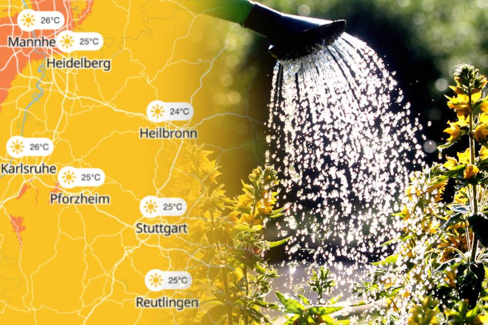 Es wird heiß in Baden-Württemberg.