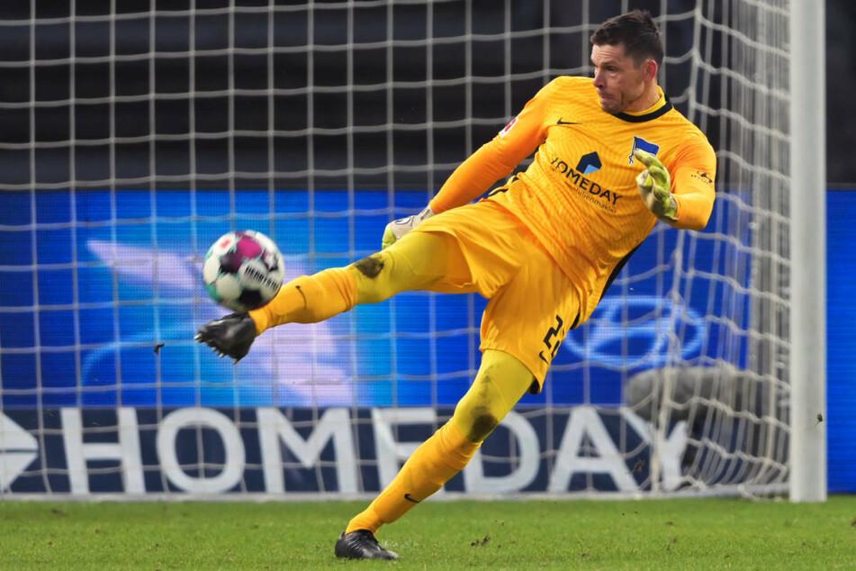 Hertha-Keeper Rune Jarstein (36) musste coronabedingt vier Monate pausieren und darf nun das Training langsam wieder aufnehmen.