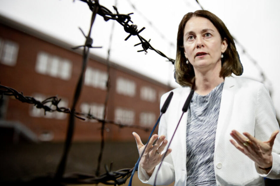 Justizministerin Katarina Barley (49, SPD) fordert das nationalsozialistische Unrecht auf dem Lehrplan des Jura-Studiums. (Bildmontage)