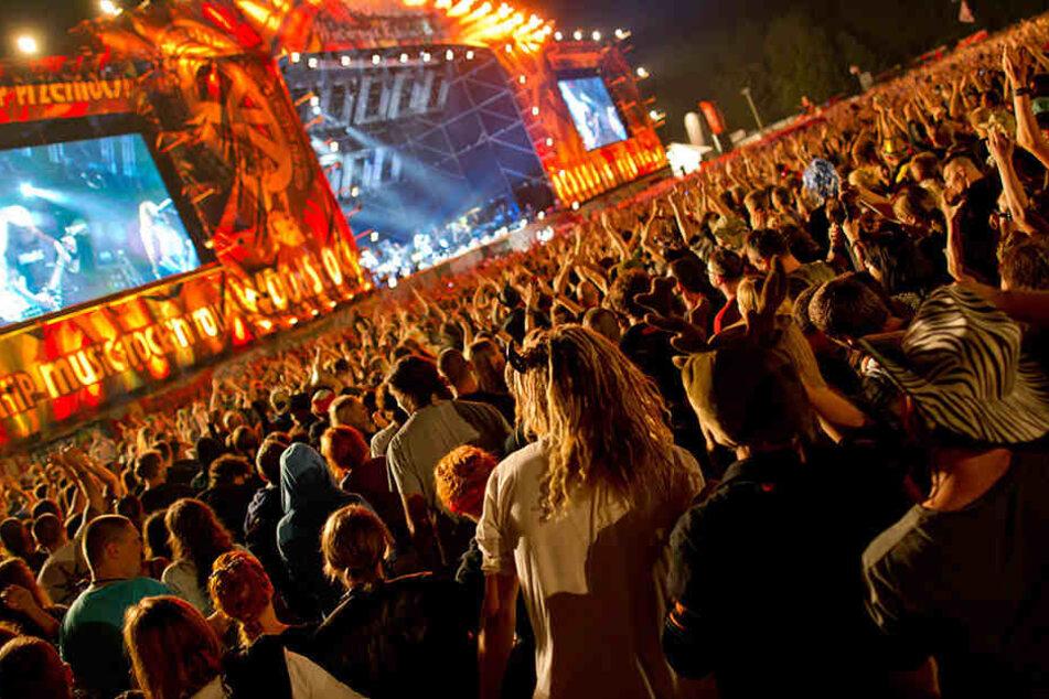 """Trotz Bedenken! Rockfestival """"Haltestelle Woodstock"""" startet"""