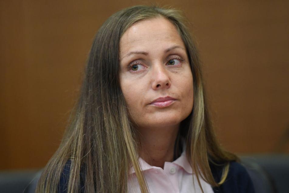 Schwesta Ewa am 8. Juni 2017 beim Prozessauftakt im Frankfurter Landgericht.