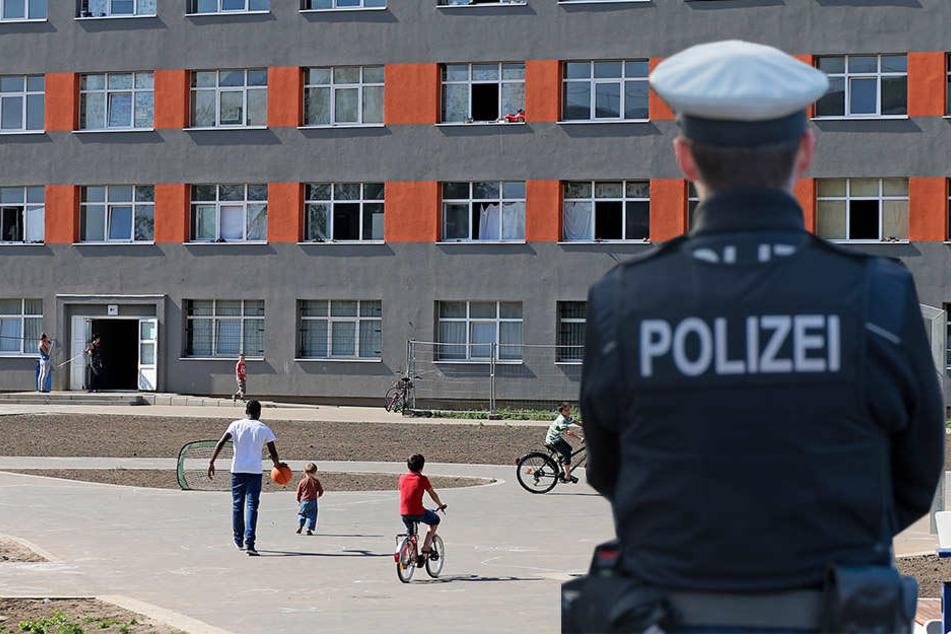 Blutige Messerstecherei in Asylbewerber-Unterkunft
