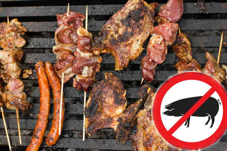 Auf der Abschlussfeier einer Schulklasse in der Schweiz soll kein Schweinefleisch auf den Tisch kommen. (Symbolbild).