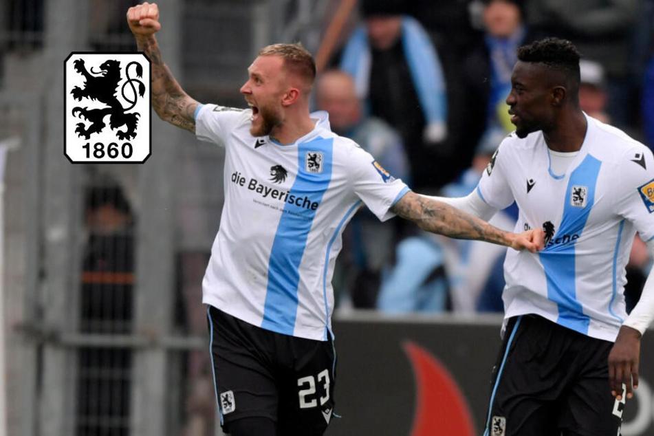 Last-Minute-Tor sichert TSV 1860 den Sieg beim S-Bahn-Derby gegen Unterhaching