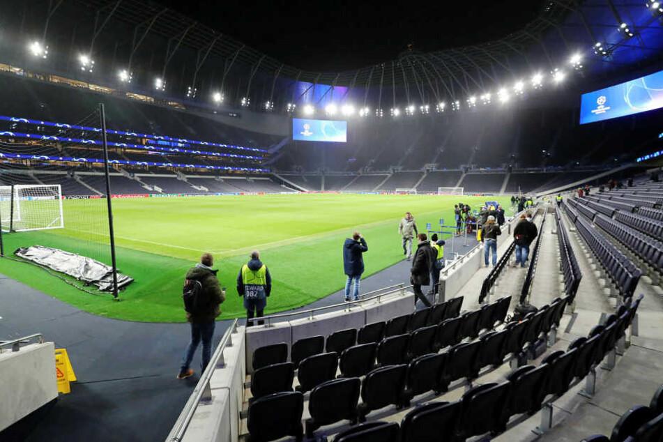 Die New White Hard Lane, die neue und eine Milliarde Pfund teure Heimspielstätte der Spurs.