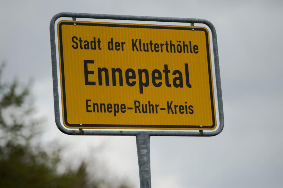 Die Firma wurde in einem Industriegebiet in Ennepetal ermittelt.
