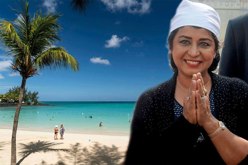 SemperOpernball: St. Georgs Orden für Mauritius-Präsidentin