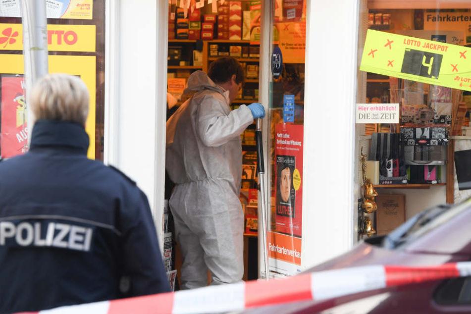 Am Dienstag hat es einen brutalen Überfall auf einen Kiosk in Wiesbaden gegeben.