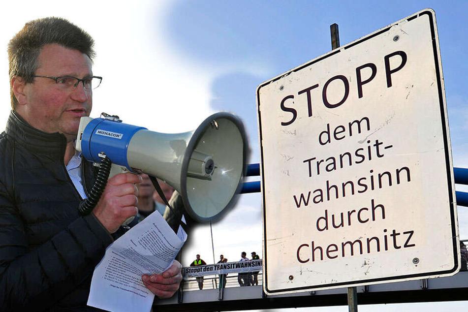 Proteste an B174: Wir wollen endlich Ruhe!