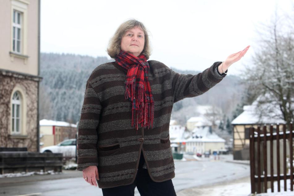 Grünen-Kreisvorsitzende Ulrike Kahl (57) kämpft für die Wetterstation.