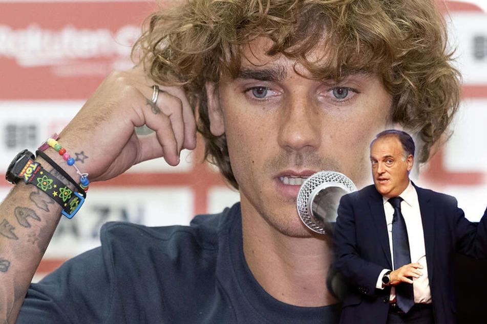 Liga-Präsident bestätigt: Darum darf Griezmann womöglich nicht für Barca auflaufen!
