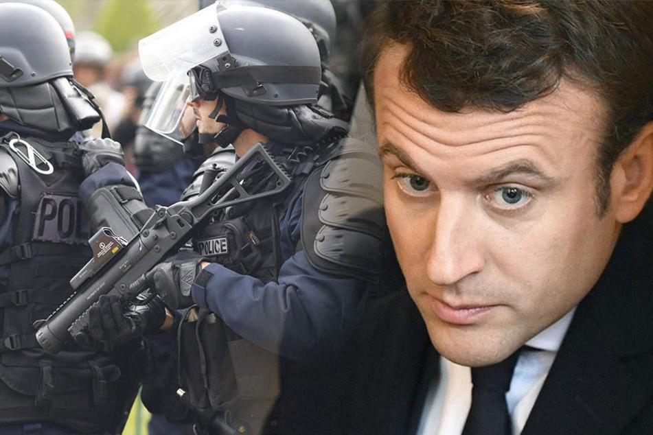 Festnahme bei Paris: Mann wollte Präsident Macron töten