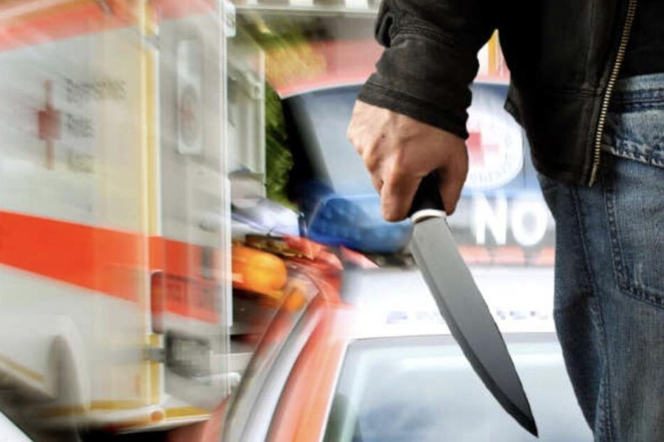 Leipzig: Mann an Bushaltestelle mit Messer attackiert