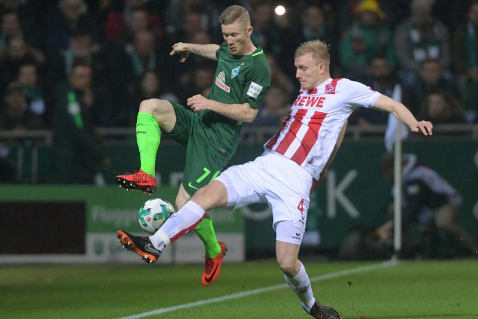Derzeit verliehen: Frederik Sörensen (27) kam zwischen 2015 und 2019 zu 97 Einsätzen für den 1. FC Köln.