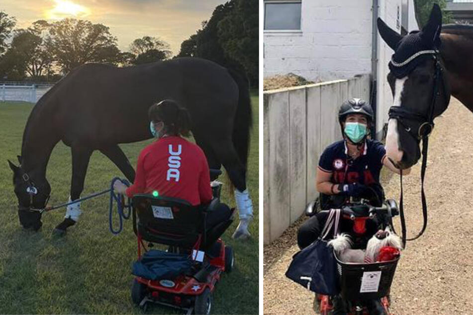 Trunnel rides her way to Team USA's first Para-equestrian gold in 25 years