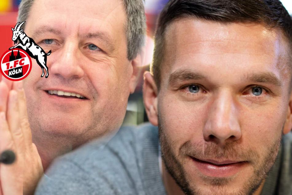 Lukas Podolski soll zum 1. FC Köln geholt werden
