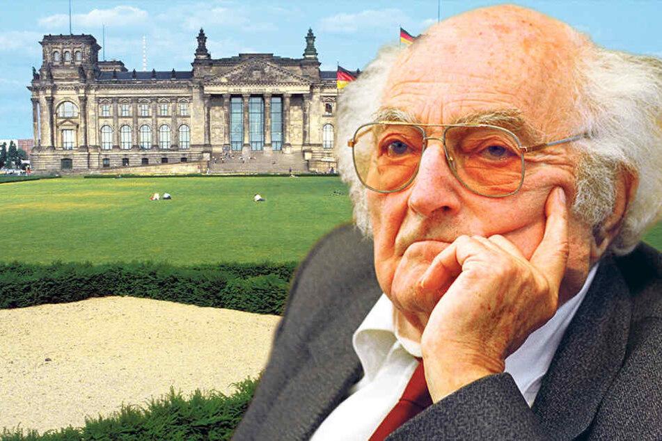 Stefan Heyms Rede vor dem Bundestag heute vor 25 Jahre: Kein Respekt vor dem Alter!?
