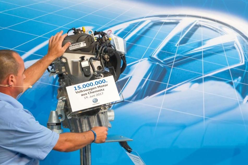Das Jubiläumsgerät ist ein 1,0-Liter-Erdgasmotor mit einer Leistung von 50 Kilowatt.