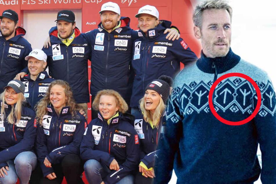 reputable site 080ce 78e5a Nazi-Skandal! Olympia-Team weigert sich, diesen Pullover ...