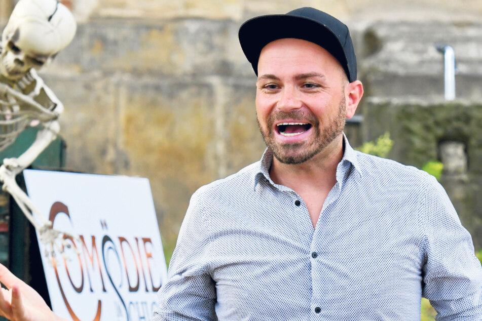 Schauspieler Christian Kühn (38) mal nicht im Bühnenoutfit.