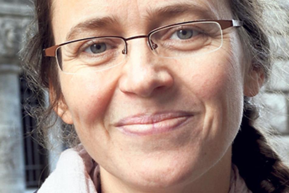"""Ulrike Wolf (44), Leipziger Musikerin: """"Meine Stimme bekommt das Bündnis Grundeinkommen BGE. Ich möchte, dass alle Menschen finanziell abgesichert sind, auch wenn sie sich in prekären Lebenssituationen befinden."""""""