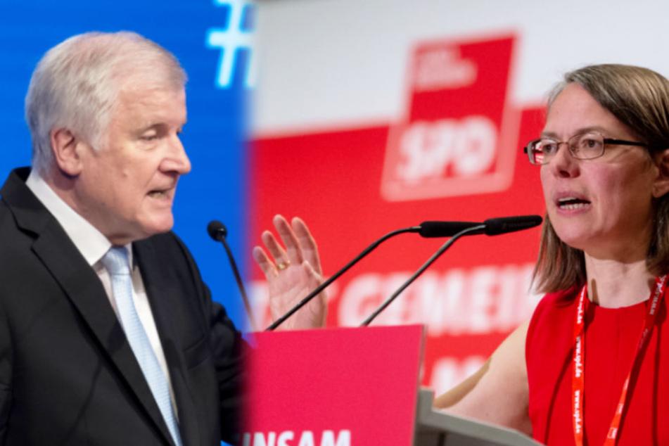 Scharfe Kritik von SPD-Chefin: Seehofer in Pension schicken!