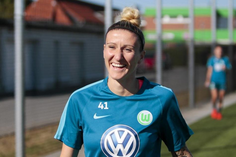 Sportlich ist die neue Heimat für Anja Mittag der VfL Wolfsburg.