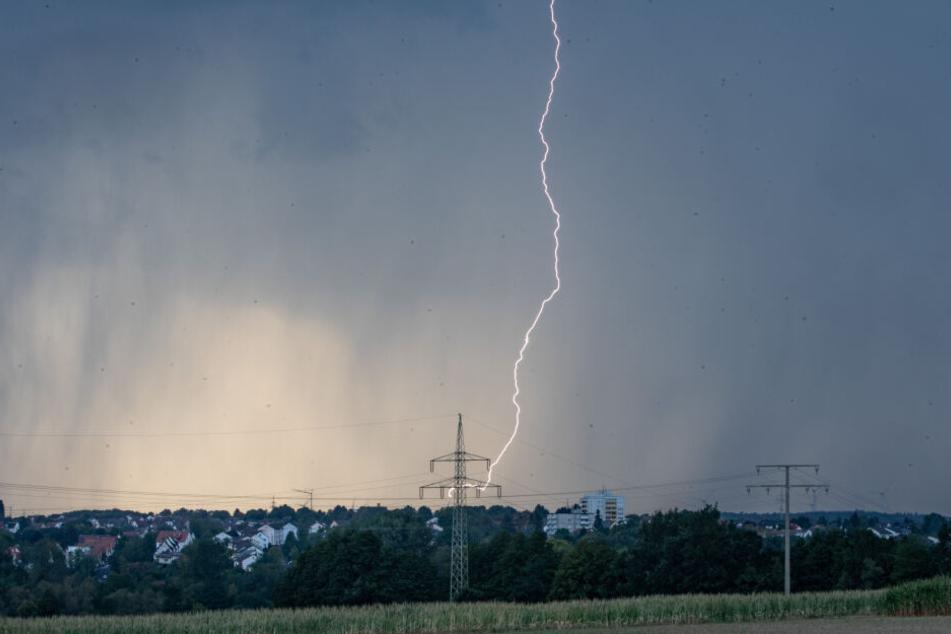 Am Wochenende rechnet der Deutsche Wetterdienst durchaus mit Gewittern.