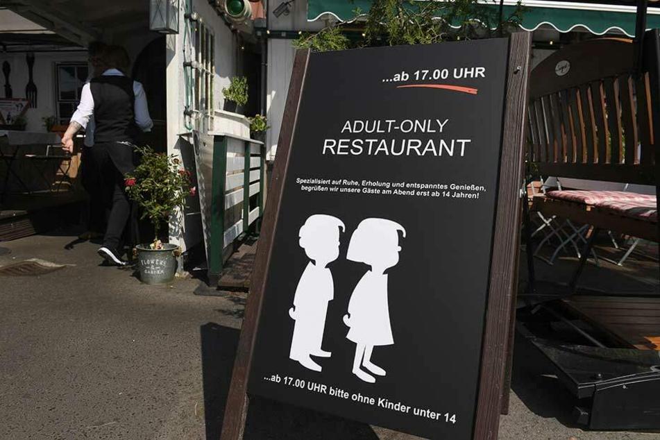 Das perfekte Eltern-Restaurant an kinderfreien Tagen.