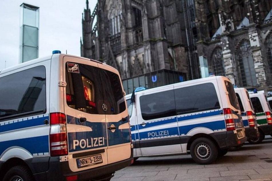 Russische Hooligans Köln