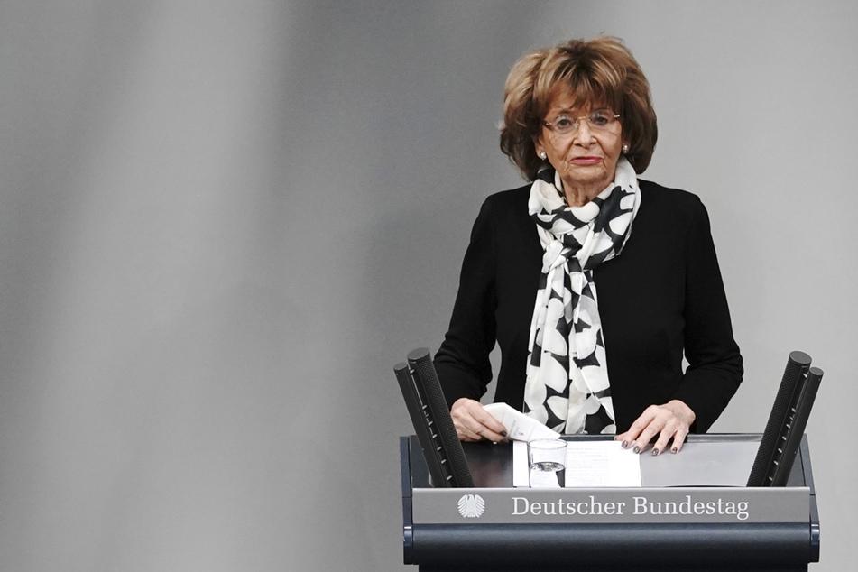 Charlotte Knobloch (88), ehemalige Präsidentin des Zentralrats der Juden in Deutschland, setzt auf Bildung gegen Judenhass.