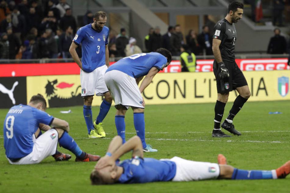 Ciao, Italia! WM erstmals seit 60 Jahren ohne Squadra Azzurra