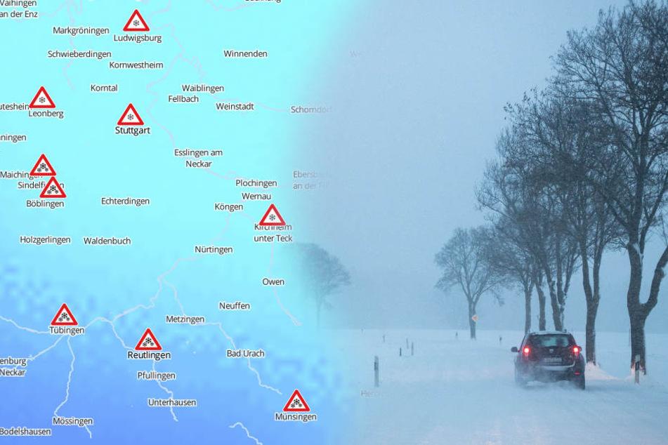 Autofahrer aufgepasst: Schnee und Glätte kommen!