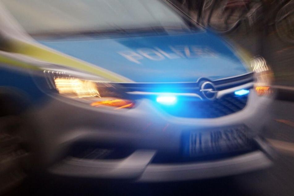 Mehrere Streifenwagen wurden zum Tatort alarmiert.