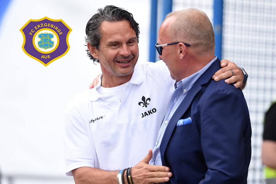 Erzgebirge Aue: Folgt Ex-Lilien-Coach Dirk Schuster auf Meyer?