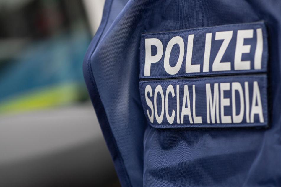 Das Social-Media-Team der Polizei Harburg reagierte auf die Hetze.