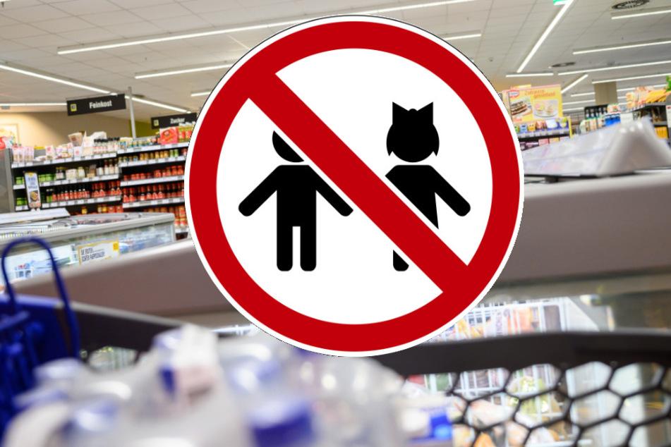 Kinder verboten! Supermärkte greifen zu drastischen Maßnahmen in Corona-Krise