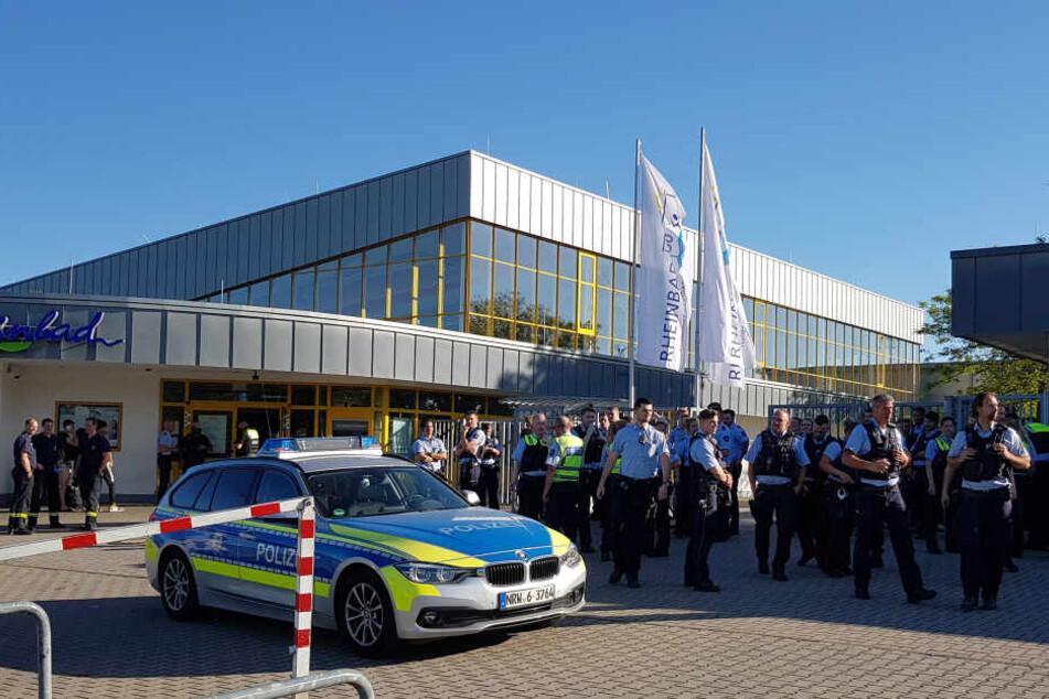 Nach Tumulten in Düsseldorfer Rheinbad: Neue Regeln und Überwachung