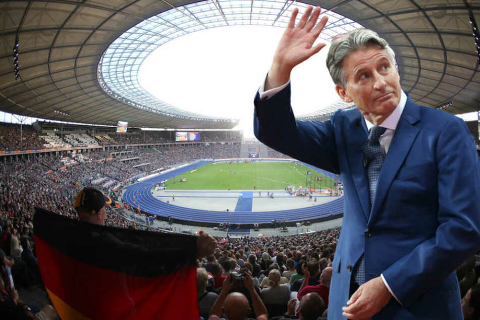 IAAF-Präsident Sebastian Coe (61) plädiert für das Olympiastadion auch als Austragungsort künftiger Leichtathletik-Events.