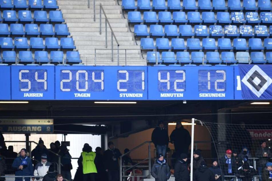 Die legendäre HSV-Stadionuhr ist Geschichte.