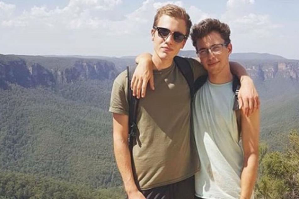 Hugo Palmer und Erwan Ferrieux hatten sich einen Traum erfüllt und reisten als Rucksacktouristen durch Australien.