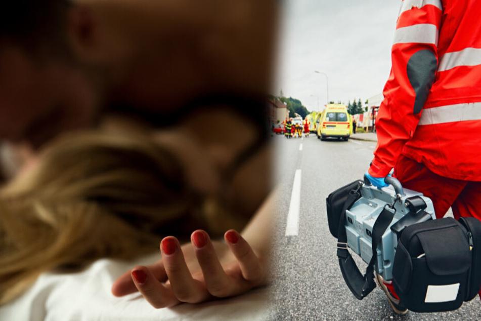 Frau erleidet fatalen allergischen Schock durch ungeschützten Sex