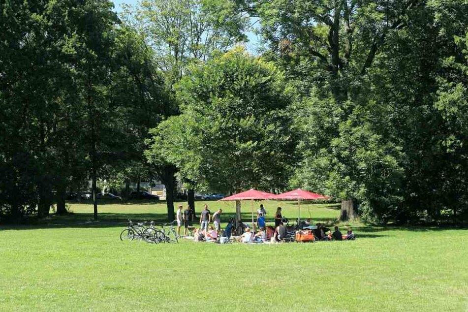 In den Leipziger Parks lässt es sich vor allem im Sommer ganz gut aushalten.