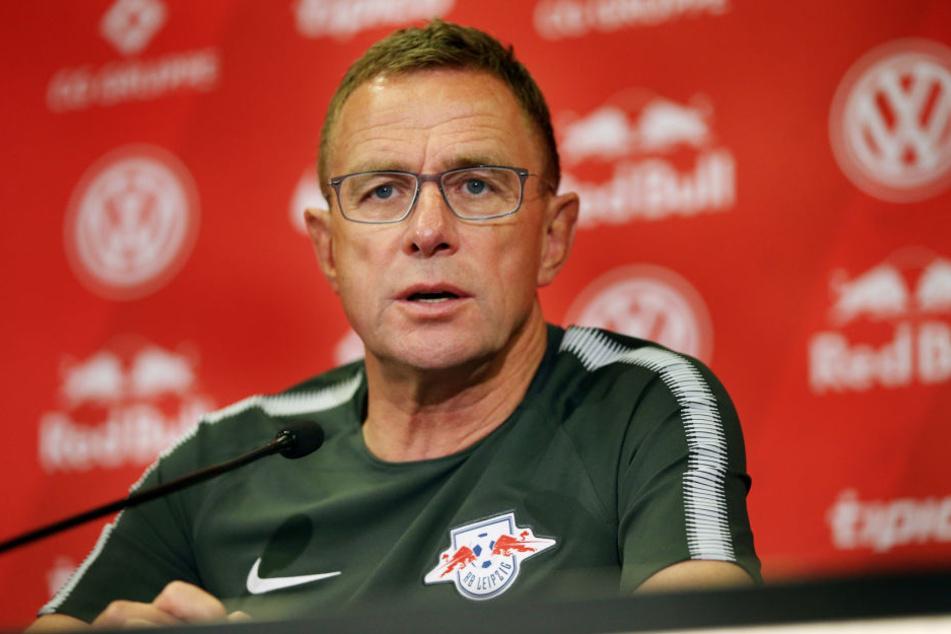 """RB Leipzigs Sportdirektor Ralf Rangnick: """"Ich denke keine Sekunde darüber nach, dass Emil den Verein verlässt."""""""